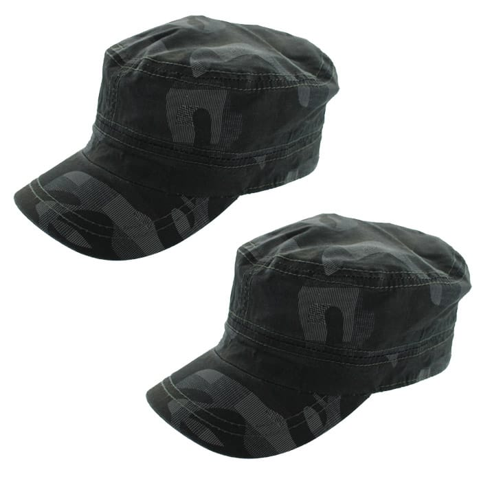 Totes Hats: Fedora Hat $4.50, 2-pack Totes Military Style Camouflage Cadet Caps  $6 + Free Shipping