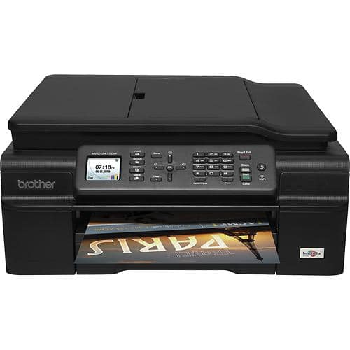 Brother MFC-J475DW Wireless Inkjet All-in-One Printer w/ Duplex  $50 + Free Shipping