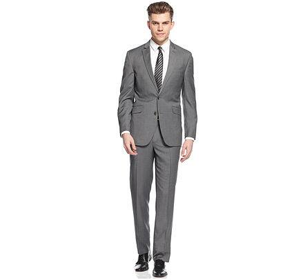 Men's Kenneth Cole Reaction Suits (Various Styles & Colors) $94.49 + Free Shipping Macys.com