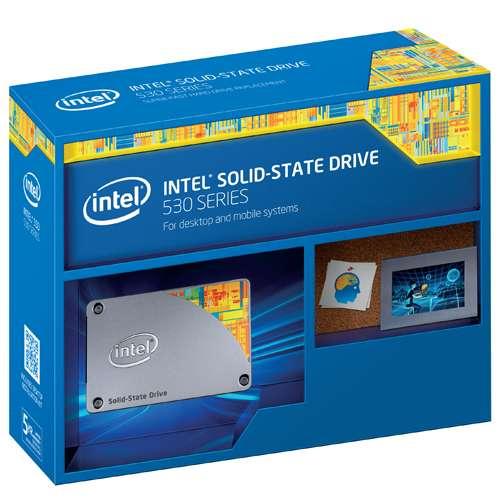 "240GB Intel 530 Series 2.5"" SATA III MLC SSD  $105 after $25 rebate + Free Shipping"