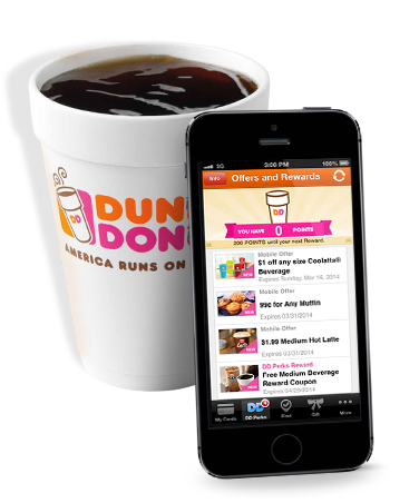 Dunkin Donuts offer is back- enroll in DD Perks app with $2 unregistered card and get $5 bonus card. 9/16 only