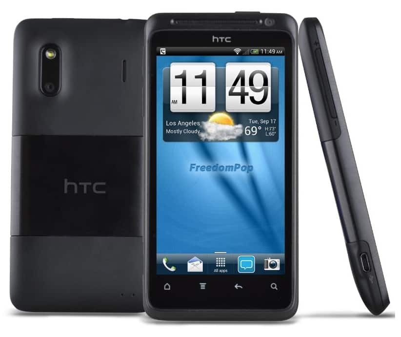 HTC EVO Design 4G Certified Pre-owned at Freedompop + FS for $24.99