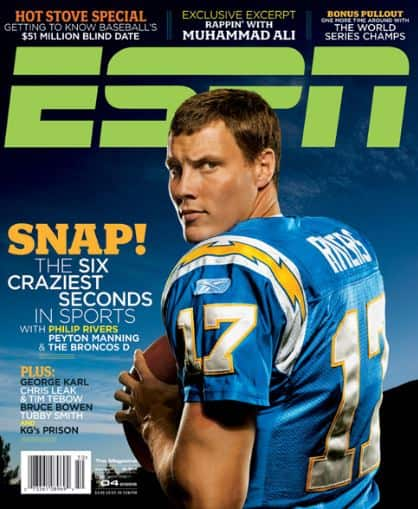 ESPN Magazine & Insider 1-Year Renewal  $1 (Existing Subscribers Only)