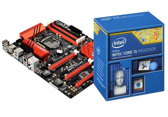 ASRock Fatal1ty Z97X Killer ATX Motherboard + Intel i5 4690K CPU  $264 after $30 Rebate + Free Shipping