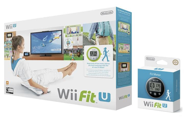 Wii Fit U with Balance Board and 2 Fit Meters - 49.99 FS