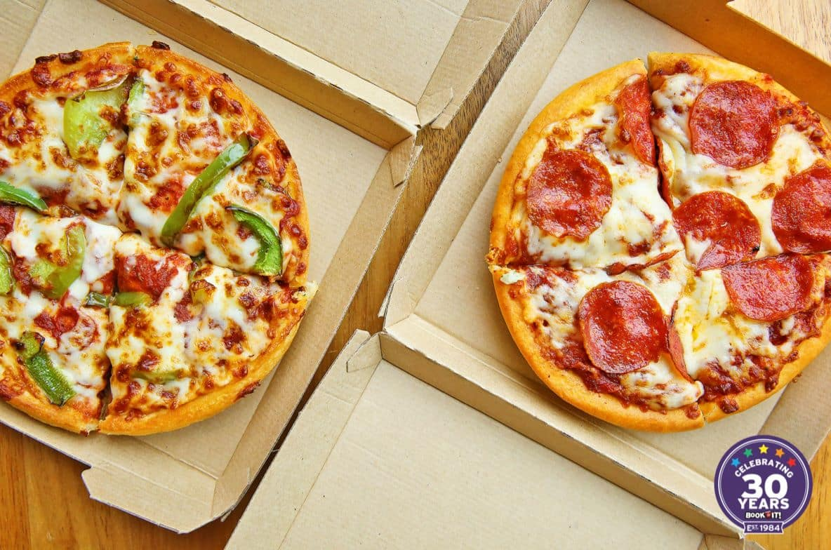 Pizza Hut 1-Topping Personal Pan Pizza  Free (Carryout Only)