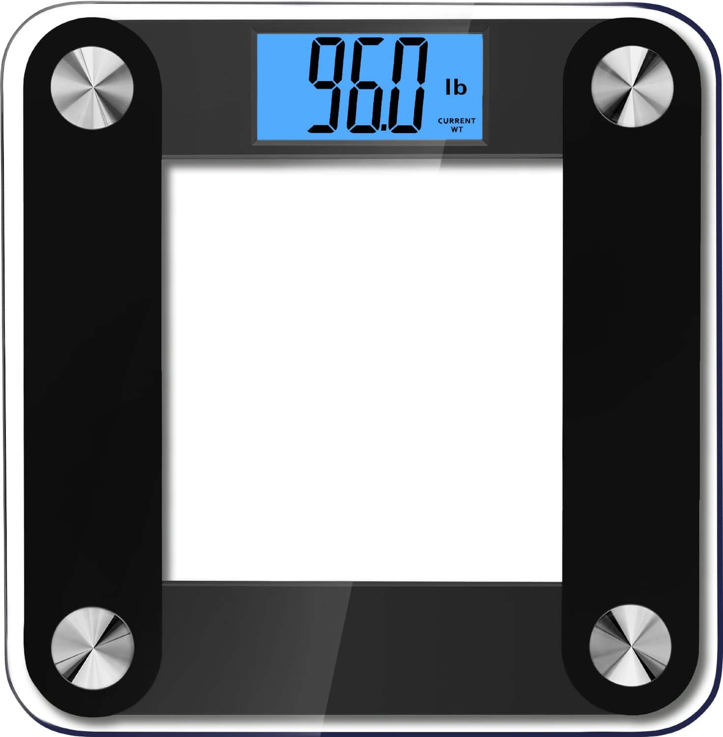 BalanceFrom Digital Bathroom Scale (up to 400lbs)  $19