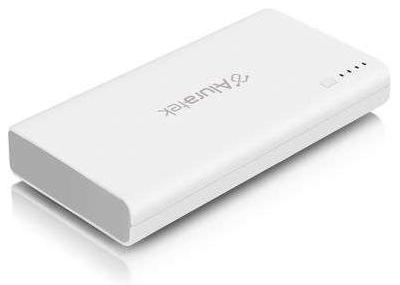 AluraTek 12,000 mAh Dual USB Portable Power Bank with Built-In LED Flashlight (XU7660) - $9.99 AR + S&H @TigerDirect.com
