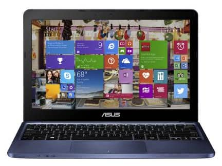 "ASUS X205 11.6"" laptop - Quad Core Bay Trail-T 12hr battery life - $179"