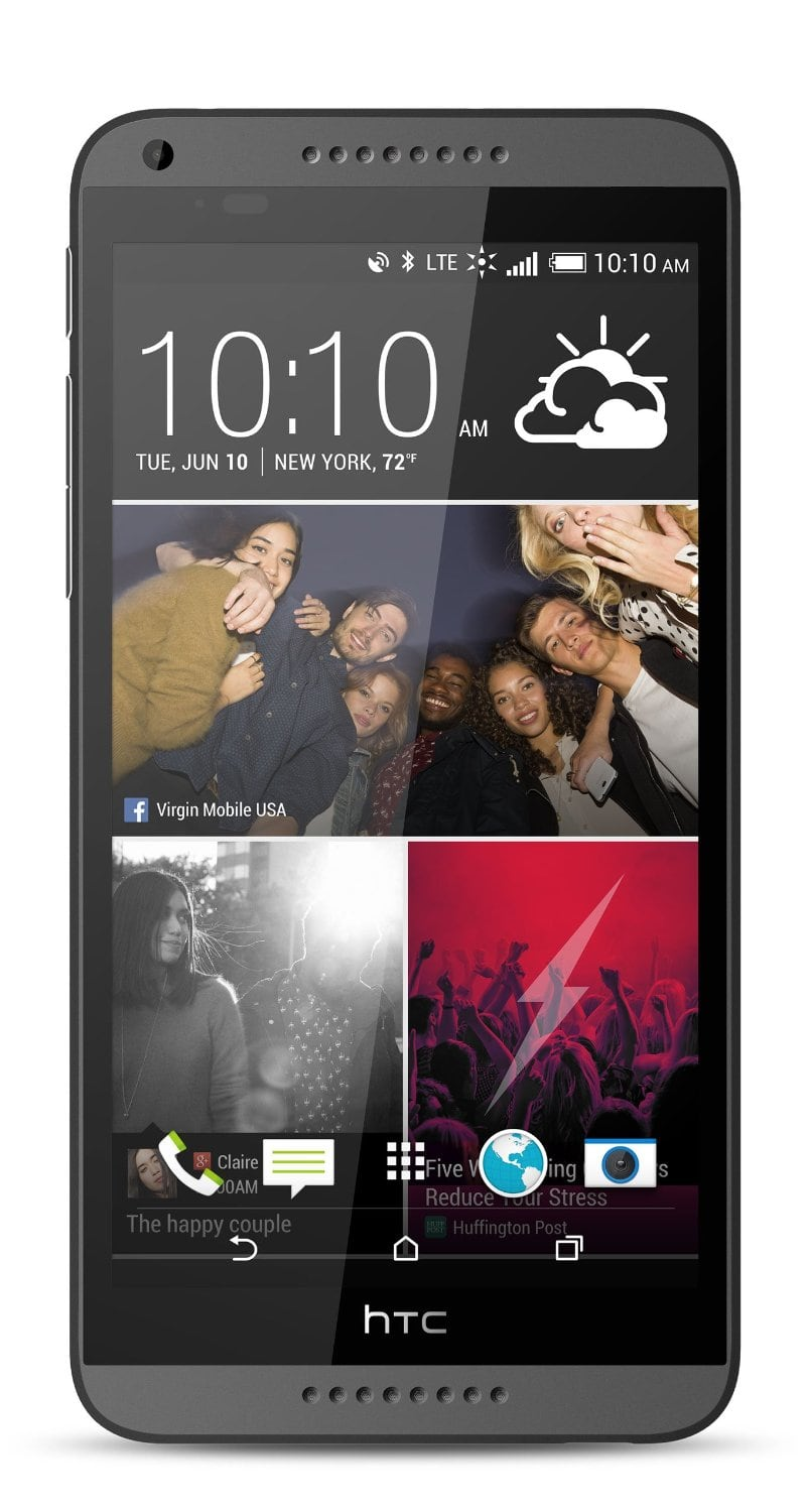 "Virgin Mobile HTC Desire 816 5.5"" Smartphone w/ Case, Car Charger, Stylus, App Pack $179.95 with free shipping"