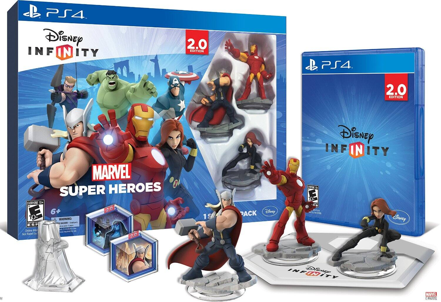 Disney Infinity 2.0 Various Consoles $54.99 w/PRIME FS +25% off if using Chase Amazon.com CC = $41.24 + tax