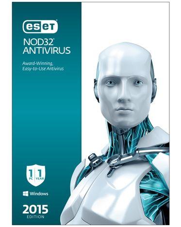 ESET NOD32 Antivirus 2015 - 1 PC - Download $5
