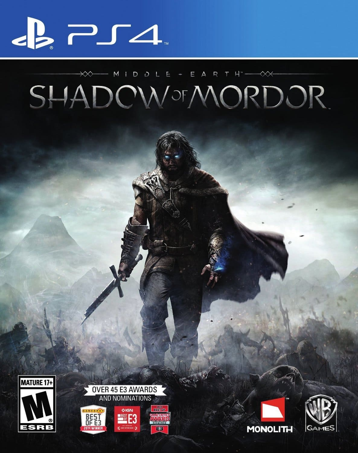 Middle Earth: Shadow of Mordor (PS4)  $25 + Free Shipping