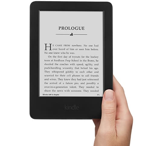 New Kindle with Touch for $35.53 from Amazon