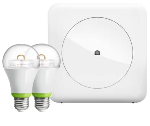 Wink Connected Home Hub + 2-Pack GE Link Wireless A19 Smart LED Bulbs  $31 + Free Shipping