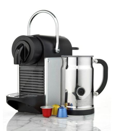 Nespresso Pixie Espresso Maker w/ Aeroccino Frother + $100 Club Credit  $200 + Free Shipping