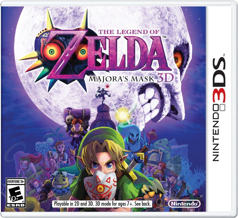 Preorder The Legend of Zelda: Majora's Mask 3DS - $33.99 - Newegg.com