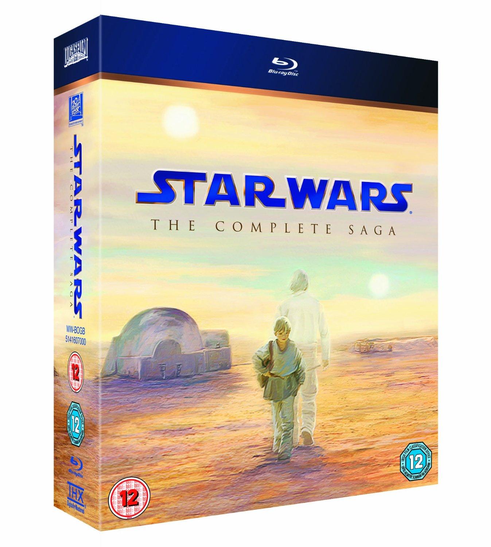 Star Wars: The Complete Saga (Region Free Blu-ray)  $58