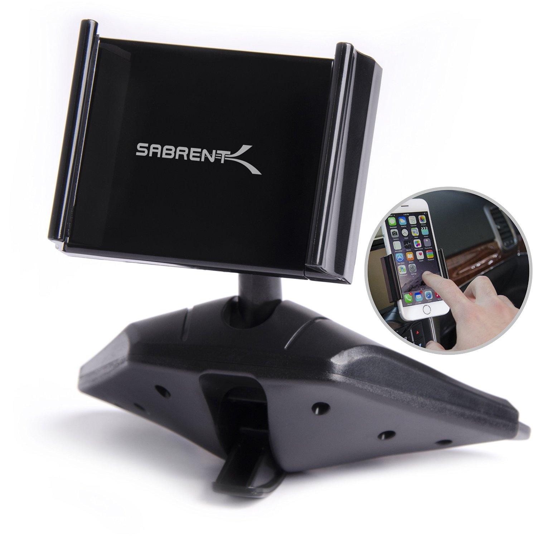 "Sabrent Smartphone CD Slot Mount for 3.5"" to 5.5"" Smartphones $9 @ amazon"