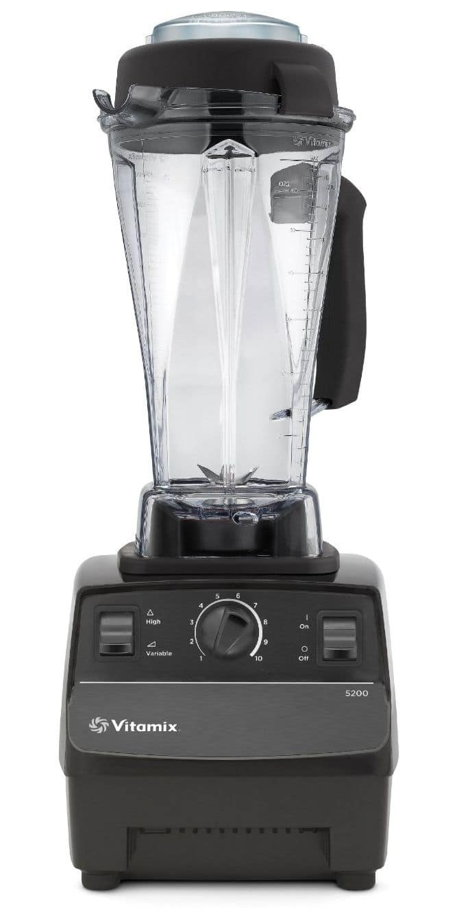 The Vitamix is really noisy, but it's not like I generally make smoothies while someone in the house is sleeping, so this is not a big deal to me. The jar I have is very tall, which means I have to store the base and the jar separately.