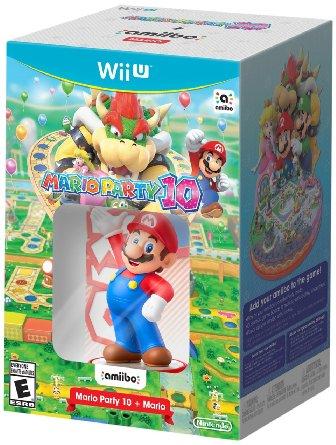Mario Party 10 with Mario amiibo Pre-Order on Newegg $53.98 Shipped