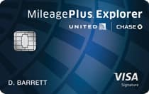 Chase United MileagePlus Explorer Credit Card  50K Miles or More w/ $3000 Spent in First 3 Months