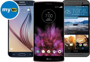 $25 Best Buy Certificate w/ Smartphone Purchase  From $20 + Free Store Pickup