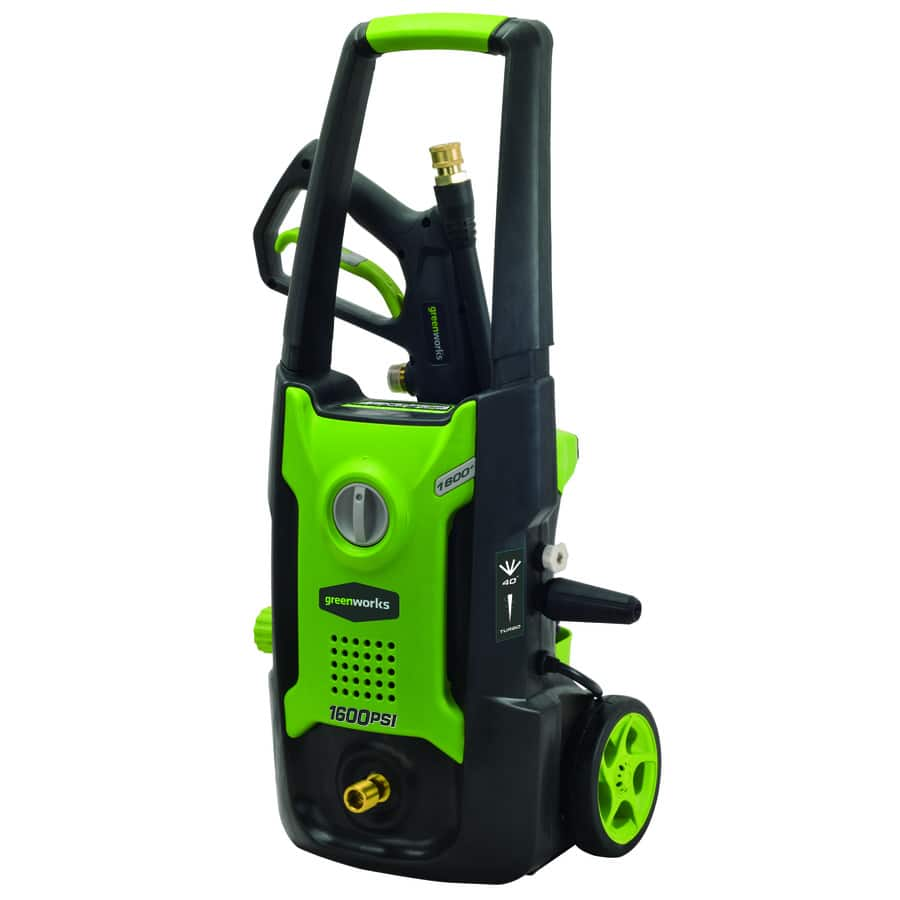 Greenworks 1,600-PSI 1.2-GPM Cold Water Electric Pressure Washer - $69 AC + FS @ Lowes