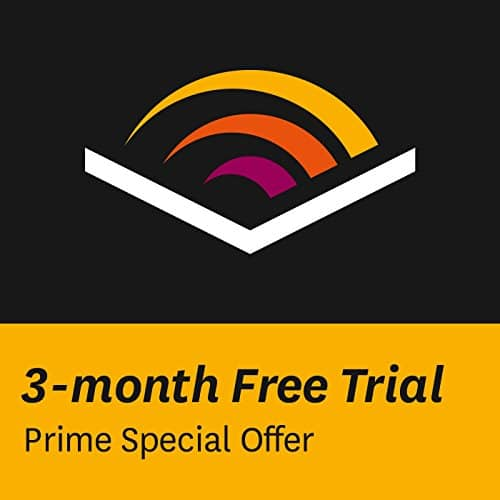 3-Month Audible Membership  Free (Amazon Prime Members Only)