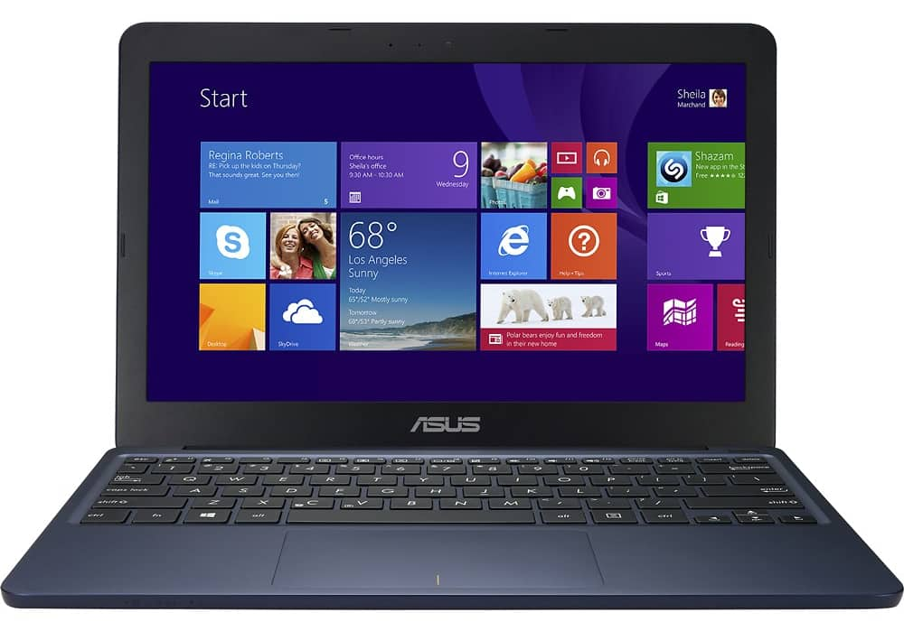 "Asus X205TA Windows 8 laptop, 2GB RAM, 32GB storage, 11.6"" 1366x768, 1yr Office 365 - $150 at Best Buy"