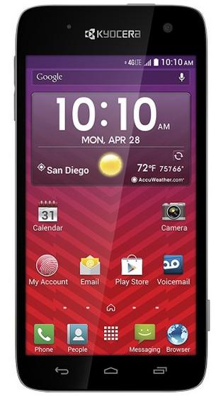 Virgin Mobile Prepaid Kyocera Hydro Vibe 4G Smartphone - $40 Free Shipping