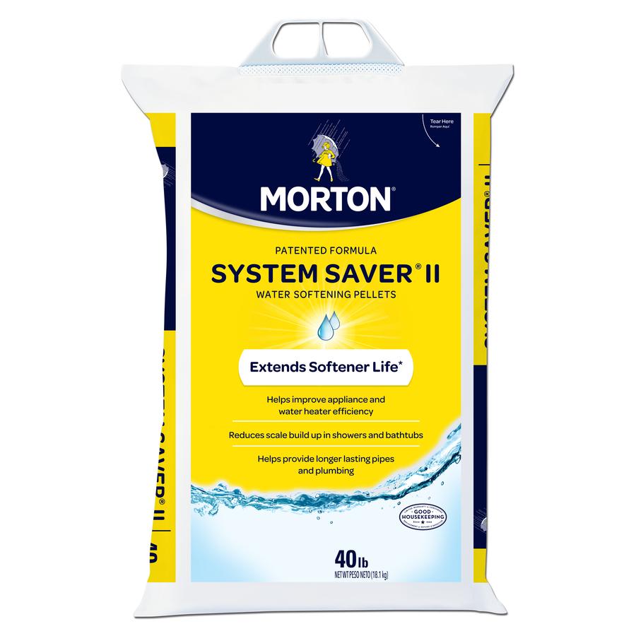 Morton System Saver II 40 Pound Bag Salt Pellets For Water Softener @ Lowes.com - $3.97/Bag...Down To $3.43/Bag Possibly YMMV