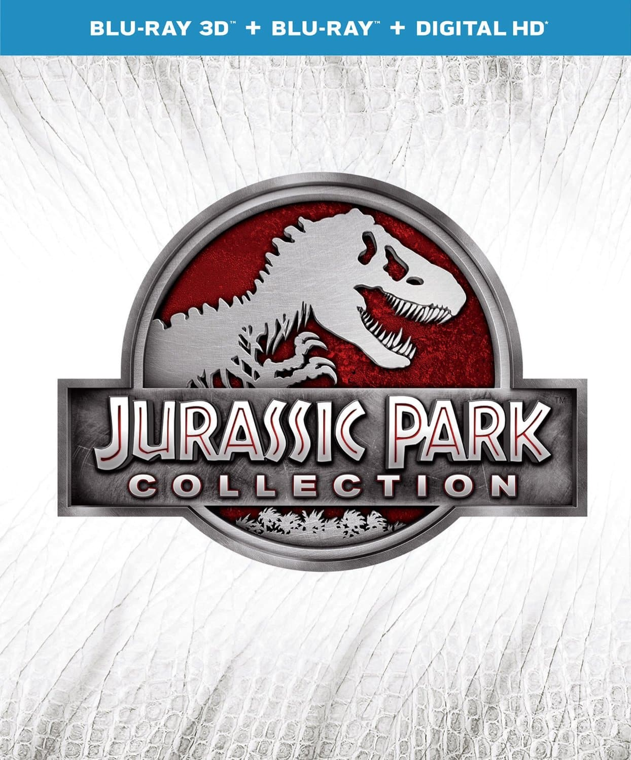 Jurassic Park Collection (Blu-ray): Jurassic Park, The Lost World Jurassic Park, Jurassic Park III and Jurassic World $24.99