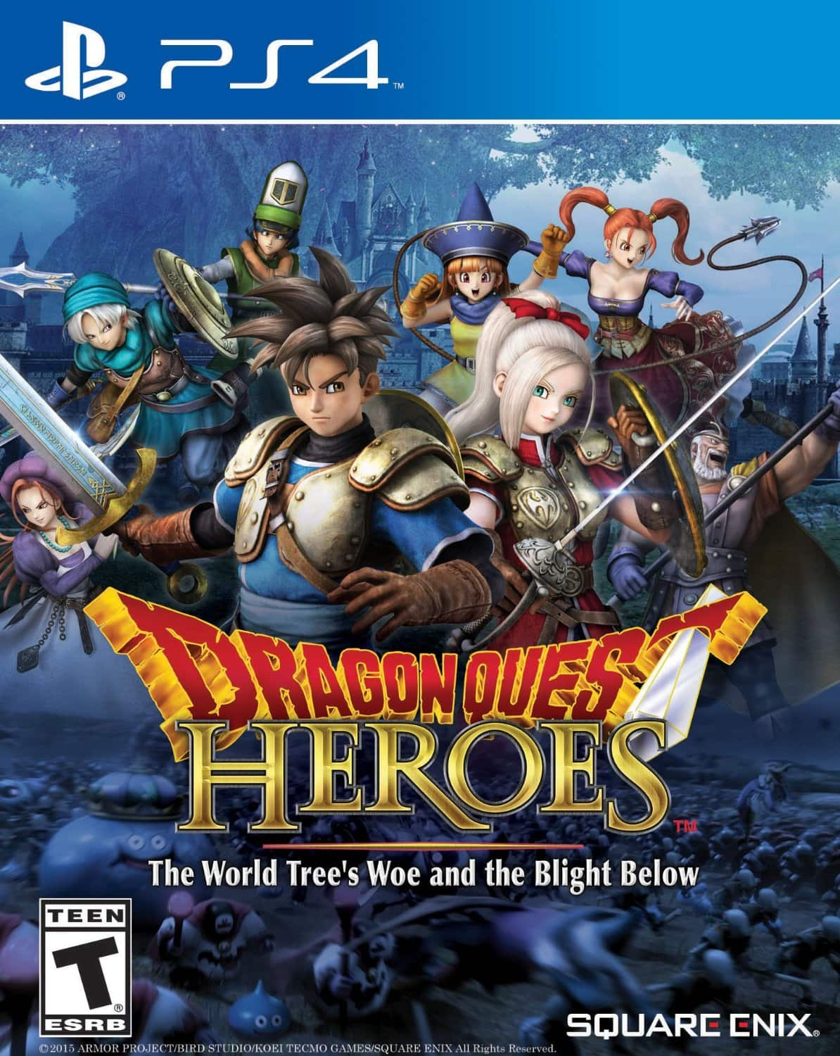Dragon Quest Heroes: The World Tree's Woe And The Blight Below (PS4 Digital Download Code) $18