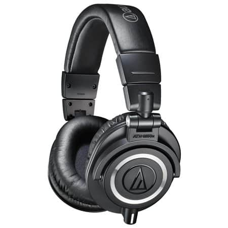 Audio-Technica ATH-M50x Professional Studio Monitor Headphones + $7.20 Rakuten Cash $90 with free shipping