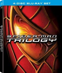 Spider-Man Trilogy (4-Disc Blu-Ray Set) $9.50