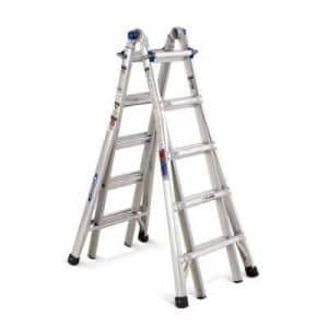 "Home Depot Werner 22 ft. Aluminum Multi-position Ladder $119.20 + tax with code ""BFLADDER20"""