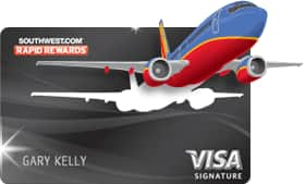 Two Roundtrip Flights (50k Points) with New Southwest Airlines Premier Credit Card Approval after First Purchase