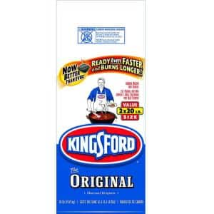 2-pack 20lb Kingsford Charcoal Briquettes $8 Free Store Pickup