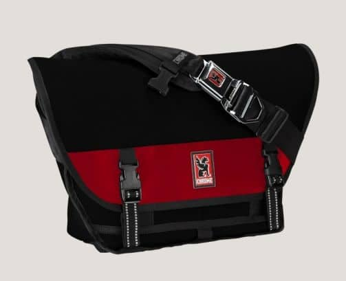 50% off Chrome Bag Store: Mini-Metro Buckle Bag (small) $60, Citizen Buckle Bag (medium) $70, Metropolis Buckle Bag (large) $80, Boris Backpack $60, Senator Rolltop Haul Bag $24.50