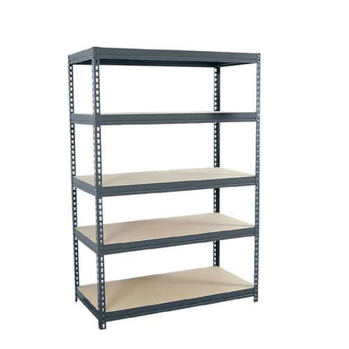 "Lowes: edsal 72""H x 48""W x 24""D 5-Tier Steel Muscle Rack Shelving Unit $49.00"