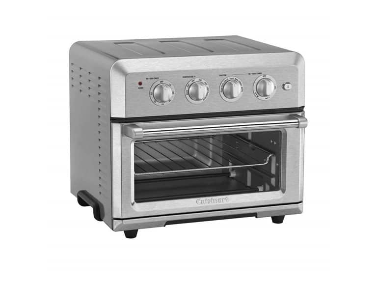 Cuisinart TOA-60 Air Fryer Toaster Oven, Silver $94.99