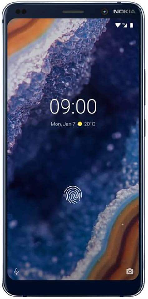 Nokia 9 Pureview 128GB Unlocked GSM Smartphone $399 at Amazon