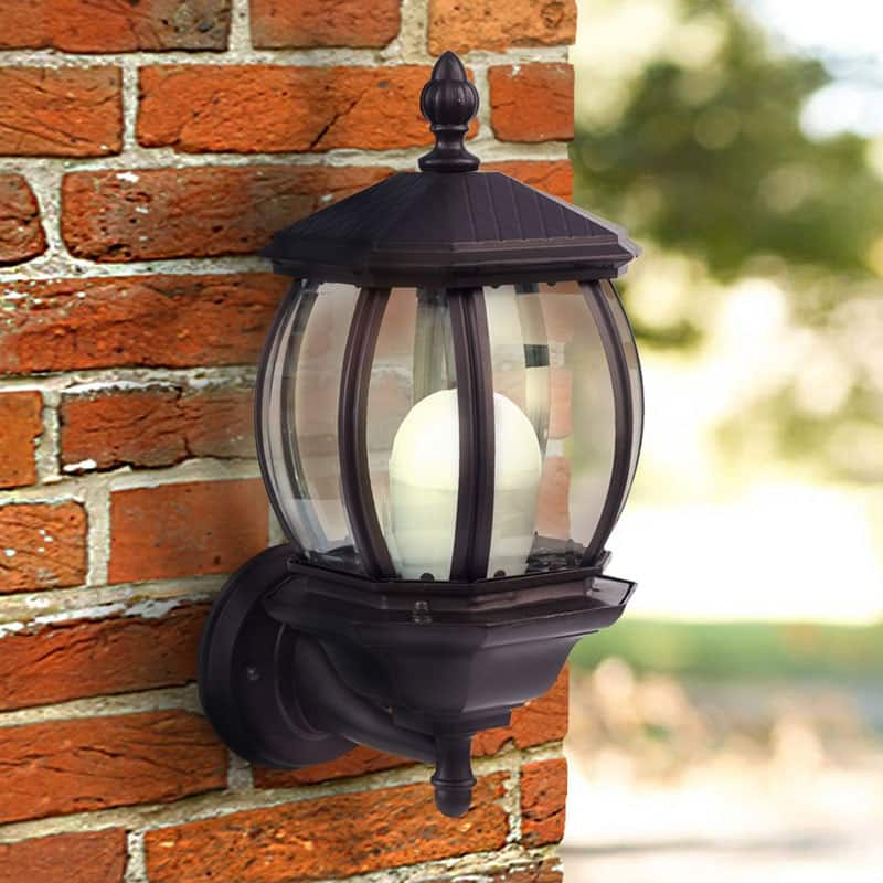 Solar Powered LED Wall Light  $32.39 $32.99