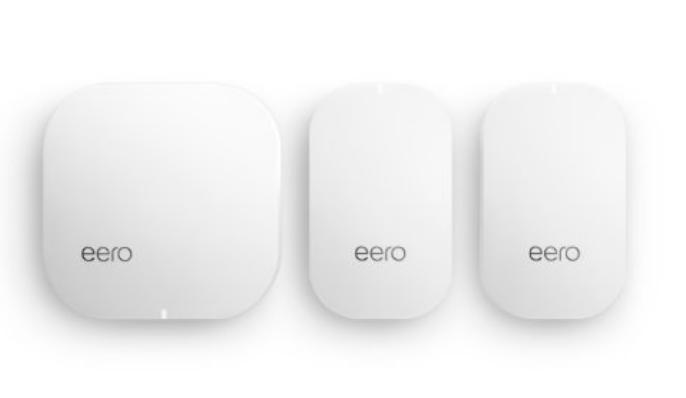 eero Home WiFi System (1 eero + 2 eero Beacons) - $297