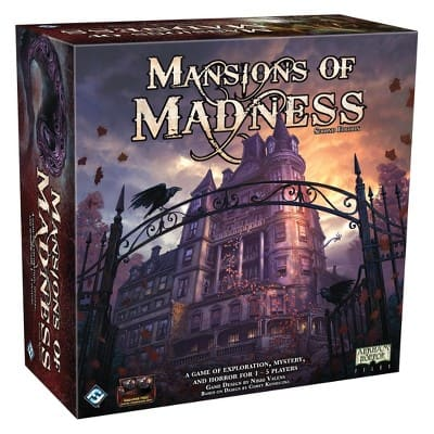 Target Clearance Mansions of Madness $49.99, Fallout Board Game $29.98, Destiny Collectors Chess $34.97 YMMV