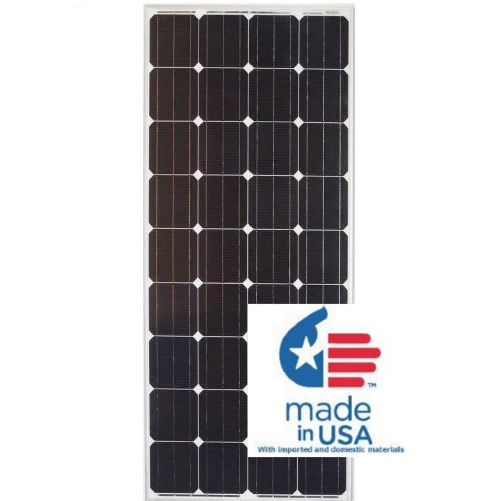 Grape Solar 180-Watt Monocrystalline PV Solar Panel $185