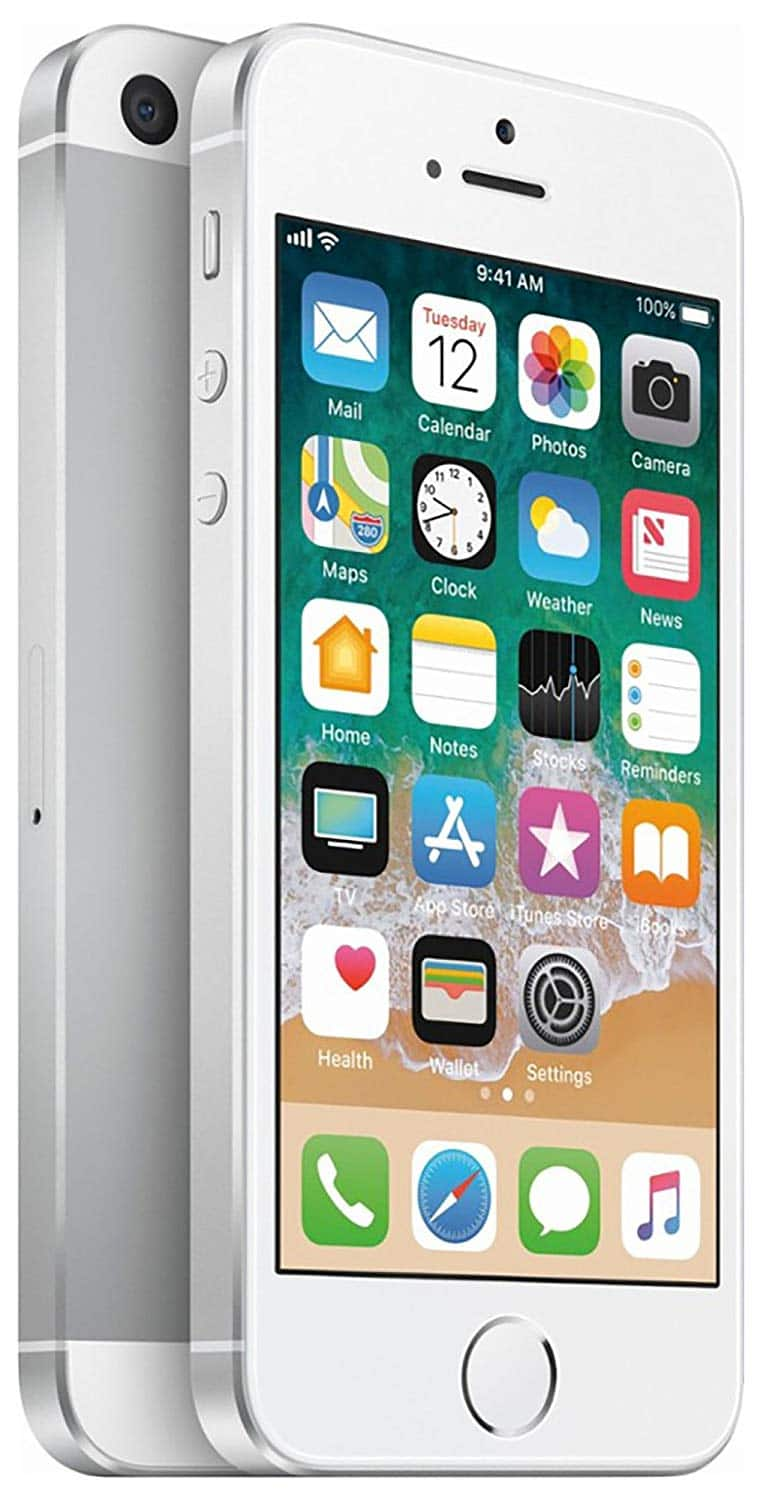 32GB Simple Mobile Apple iPhone SE Prepaid Smartphone (Silver) $60 + Free Shipping