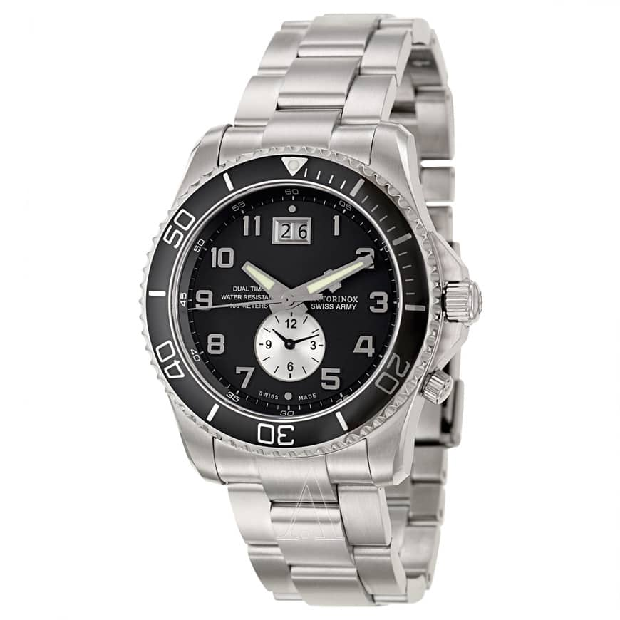 VICTORINOX SWISS ARMY Men's Classic Maverick GS Dual Time Watch $109 @ Ashford