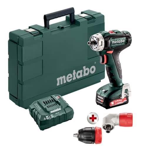 Metabo 12V Cordless Powermaxx BS 12 Q Drill/Driver 2.0Ah Kit 601037620 - $69 at ohiopowertool.com